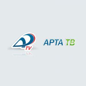Бегущая строка -  АРТА, в городе Экибастуз